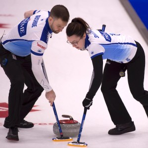 Gushue/Sweeting, Lawes/Morris two wins away from gold at Canad Inns Mixed Doubles Trials (Curling Canada)