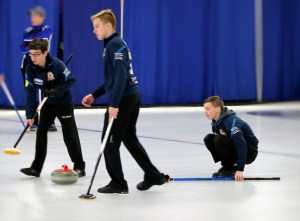 Mitchell Schut rink wins 1st 2 PEI Credit Unions U18 Boy's sections, Sanderson, Ferguson win girl's A and B