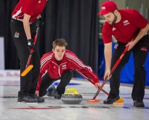 UNB, with Summerside's Alex Gallant, playoff-bound at U Sports Ch'ships (Curling Canada)