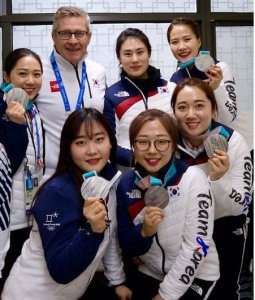"""Gallant talks about guiding the South Korean """"Garlic Girls"""" to an Olympic silver medal (Guardian)"""