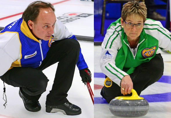 Cornwall's Shirley Berry, Bill Hope representing PEI at Everest Canadian Seniors, starting Sat. in Stratford ON (Curling Canada)
