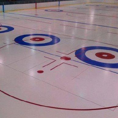 Lobster Trap Bonspiel on arena ice @ Eastern Kings Sportsplex | Souris | Prince Edward Island | Canada