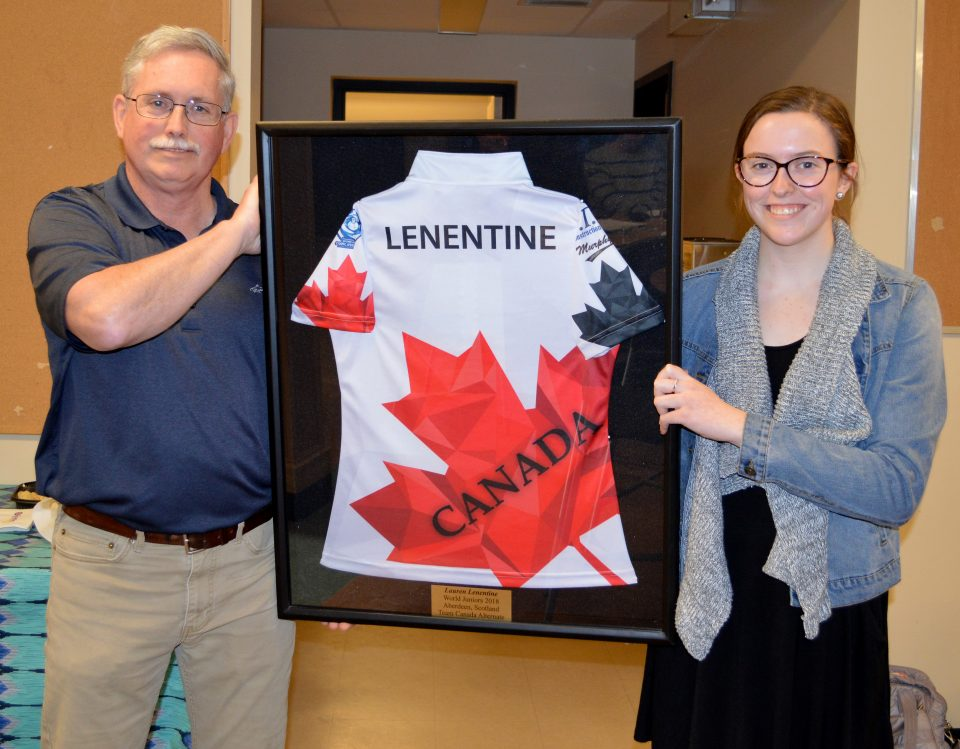 Cornwall Curling Club honours its first World Champion