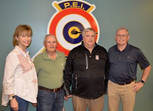 Award presented to Curling Canada Volunteer of the Year Finalist
