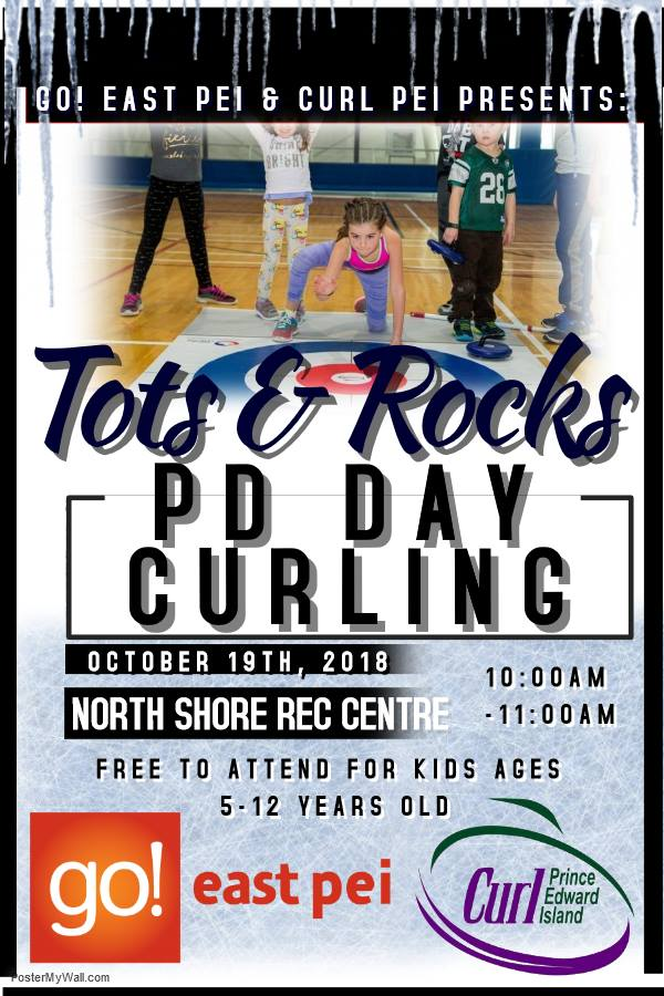 Tots and Rocks - Free PD Day activitiy @ North Shore Community Centre | Prince Edward Island | Canada