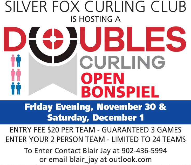 Doubles Curling Open Bonspiel @ Silver Fox Curling and Yacht Club