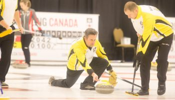 PEI Men open with win at Travelers while Women lose close