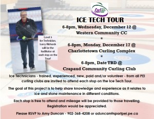 Curl PEI Ice Tech Tour with Level 3 Ice Technician Larry Richards