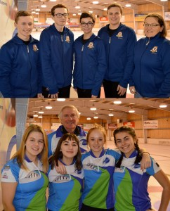 Schut and Ferguson rinks win opening matches in Canada Games Qualifier Finals best of five series