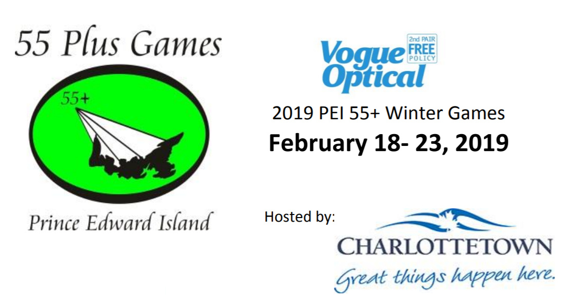 Vogue Optical PEI 55+ Winter Games including Curling, Stick Curling @ Charlottetown Curling Complex
