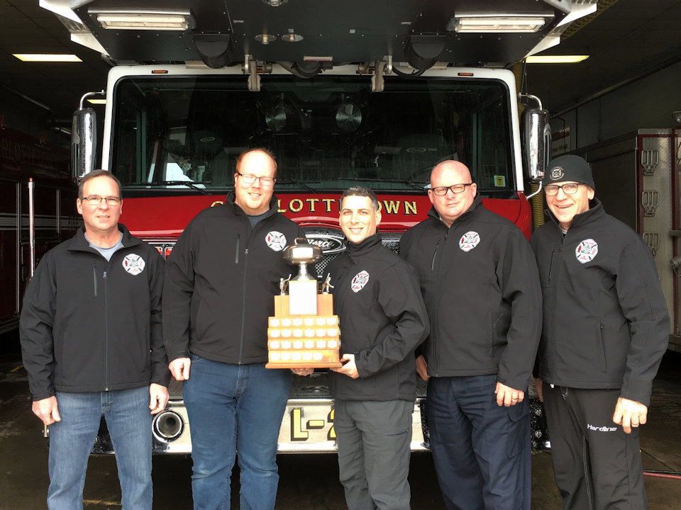 PEI Firefighters Champs - team photo