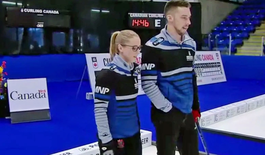 Mixed Doubles curling has come a long way, says Brett Gallant. 'It was awesome to play in a full house' (CBC PEI)
