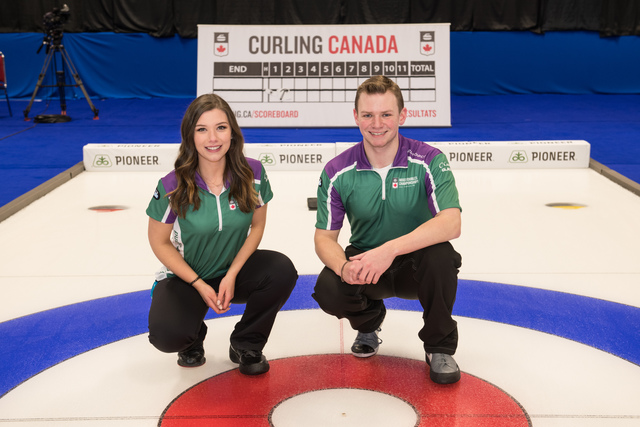 Peterman/Gallant on top of Mixed Dbls standings, O'Connor/Abraham at 1-4 following 2 losses Thurs. (Curling Canada)