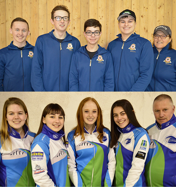 PEI's Ferguson and Schut teams begin play Tues. at Under-18 Ch'ships in Sherwood Park, Alta. (Curling Canada)