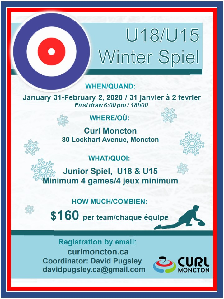 Curl Moncton Winter Spiel (U15 / U18) @ Curl Moncton