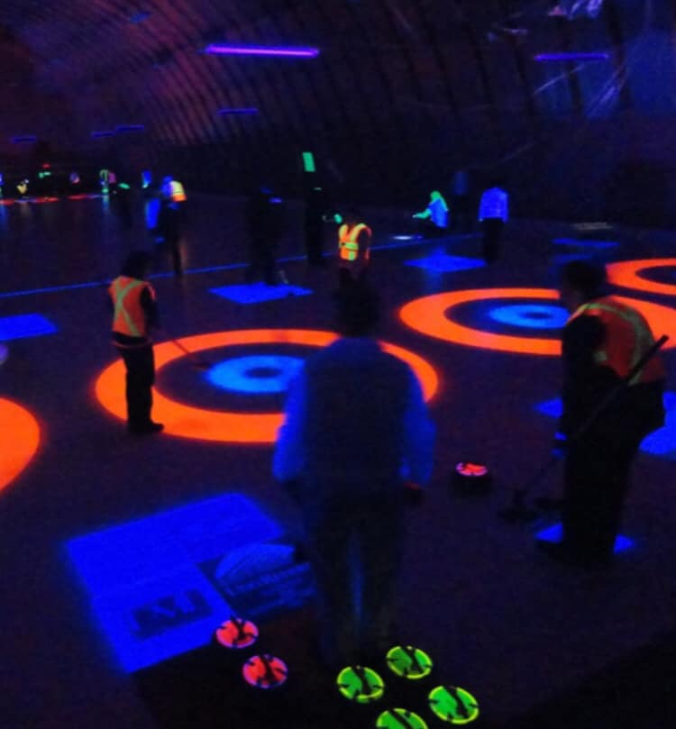 Glow in the Dark Curling @ Charlottetown Curling Complex
