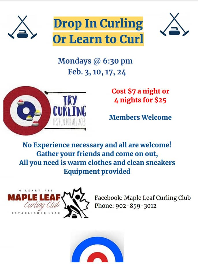 Drop-In / Learn to Curl @ Maple Leaf Curling Club
