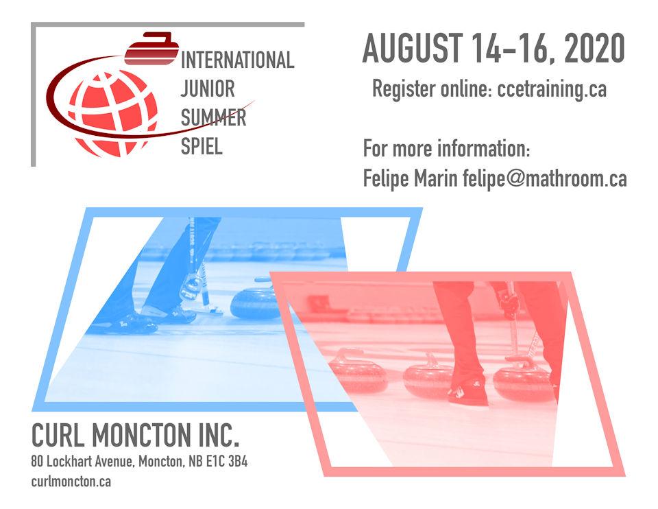 Curl Moncton International Junior Summer Spiel @ Curl Moncton