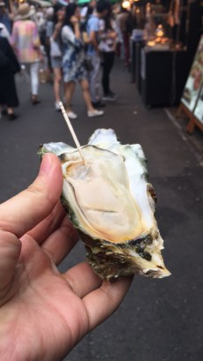 Fresh oysters from Japan!