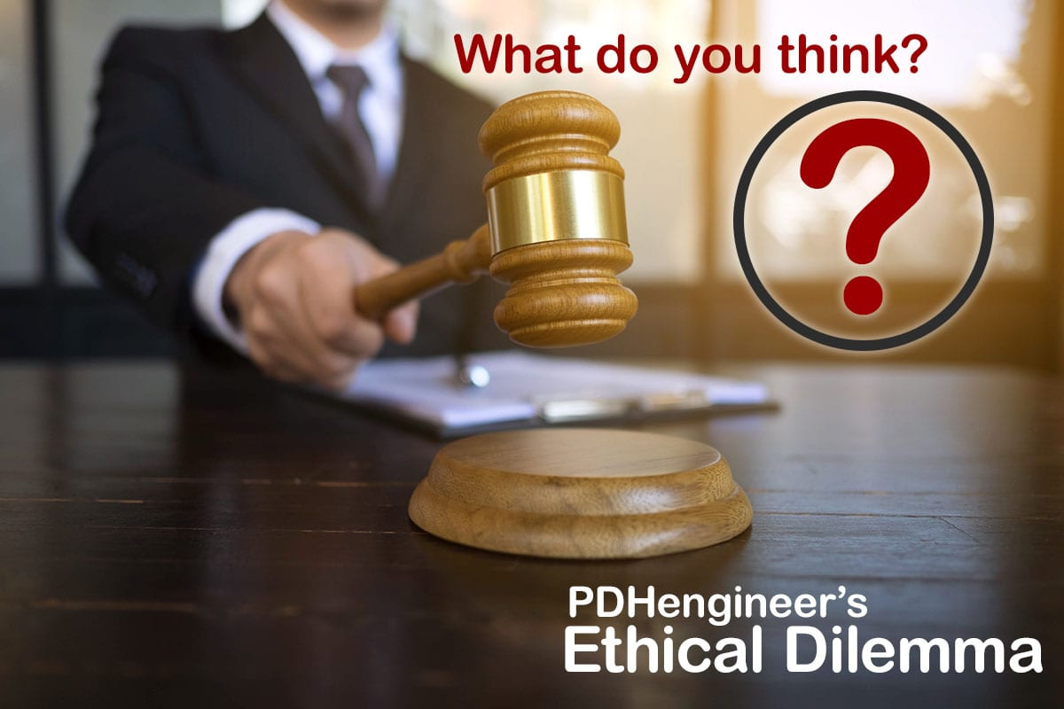 The May Ethical Dilemma Contempt Of Court Peimpact