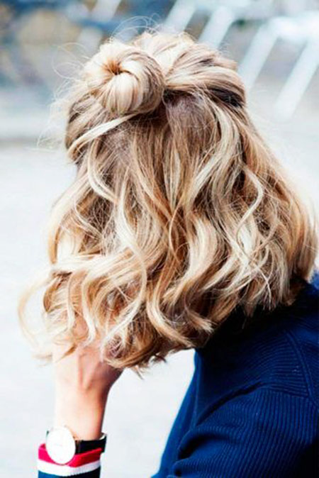 Ombre Wedding Updo Up