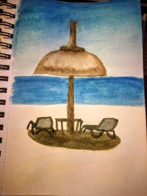 Moment de détente sur l'Île aux Cerfs