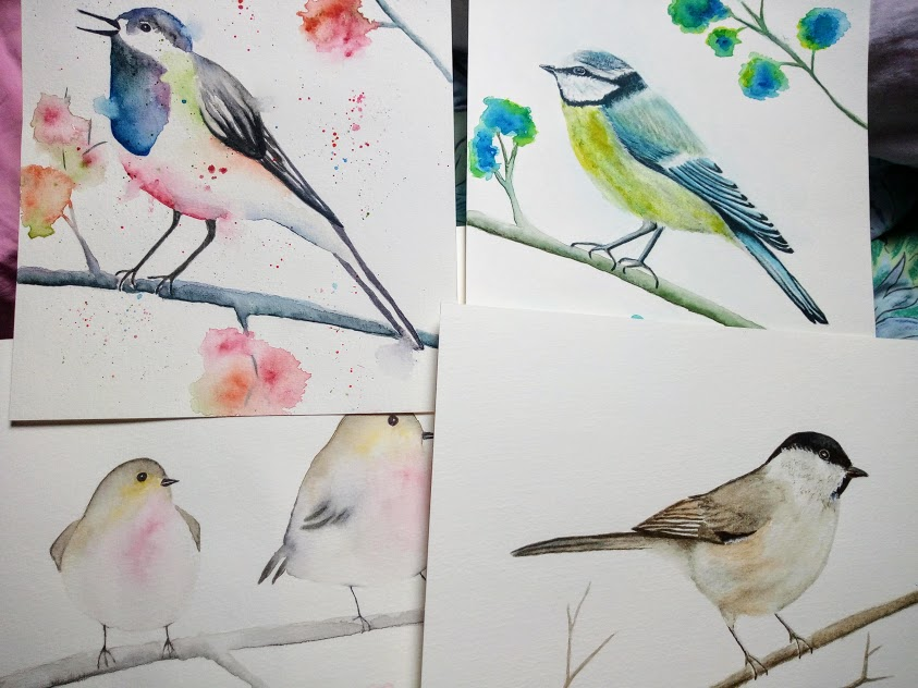 Tuto aquarelle : comment peindre un oiseau