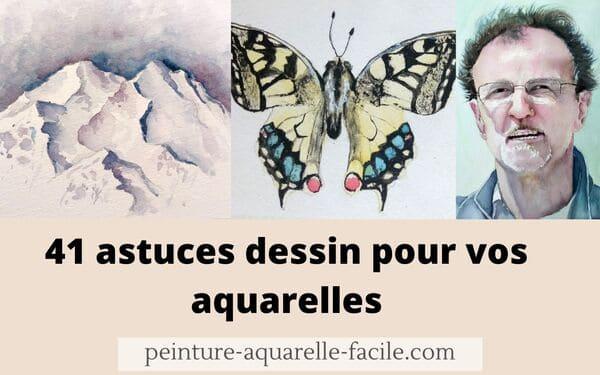 Read more about the article 41 astuces dessin pour vos aquarelles