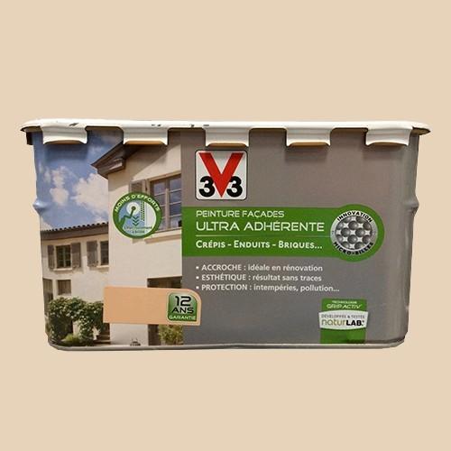 peinture v33 facade ultra adherente sable de la marque v33