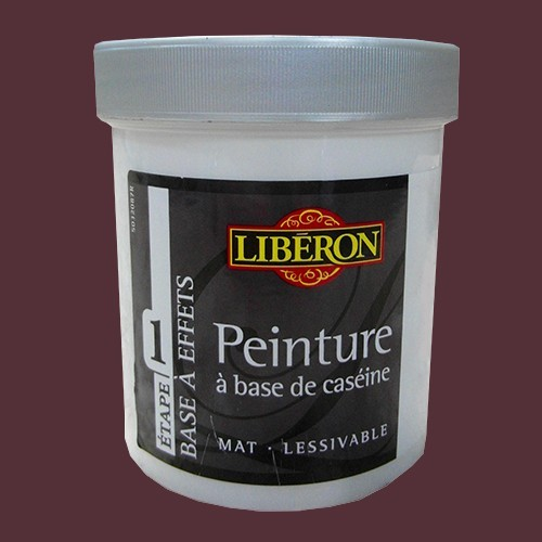 Liberon Peinture A Base De Caseine 0 5l Aubergine De La Marque Liberon