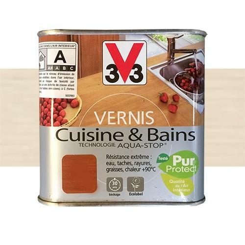 V33 Vernis Cuisine Et Bains Blanc Cremeux Satin Pas Cher En Ligne