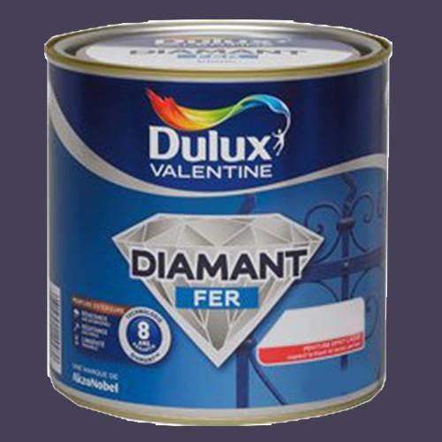 Peinture DULUX VALENTINE Diamant Fer Gris Anthracite