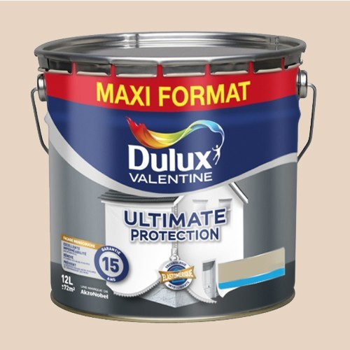 DULUX VALENTINE Peinture Faade Ultimate Protection Blanc
