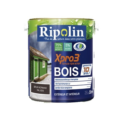 ripolin peinture xpro3 bois blanc de la marque ripolin