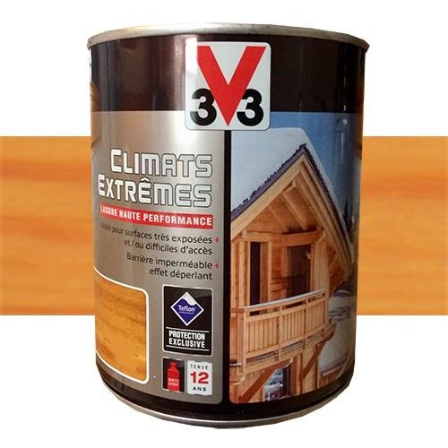 V33 Lasure Climats Extremes 12ans Chene Clair Np De La Marque V33