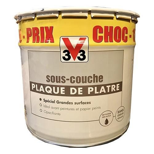 V33 Sous Couche Plaques De Platre 12l De La Marque V33