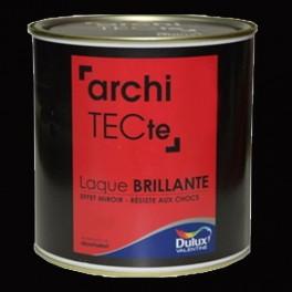 Peinture DULUX VALENTINE ArchiTECte Mat Absolu Or Noir Pas
