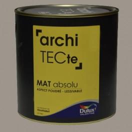 Peinture DULUX VALENTINE ArchiTECte Mat Absolu Titane Pas