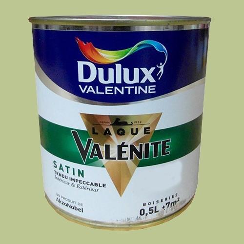DULUX VALENTINE Laque Valnite Satin Lotus Vert Pas Cher