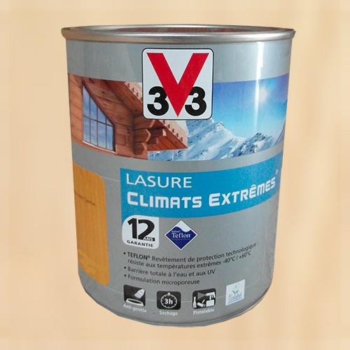 V33 Lasure Climats Extremes 12ans Incolore De La Marque V33