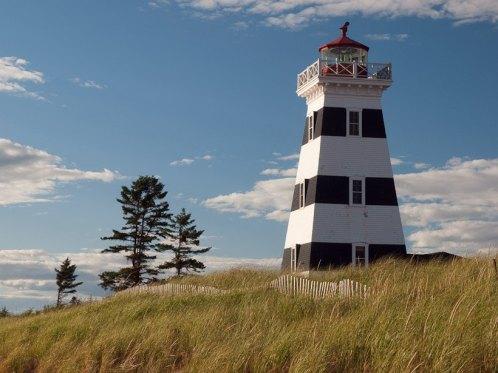 Lighthouse, Cedar Dunes Provincial Park, PEI