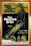 Cartel de la pelicula El ataud o La caja oblonga