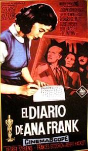 Cartel de la película El diario de Ana Frank