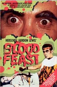 Cartel de la pelicula Blood Feast