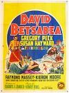 Cartel de la pelicula David y Betsabe
