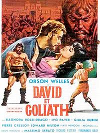 Cartel de la película David y Goliat