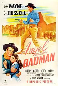 Cartel de la película El ángel y el pistolero