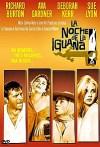 Cartel de la película La noche de la iguana