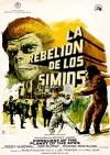 Cartel de la película La rebelión de los simios