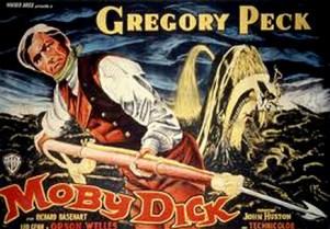 Cartel de la película Moby Dick